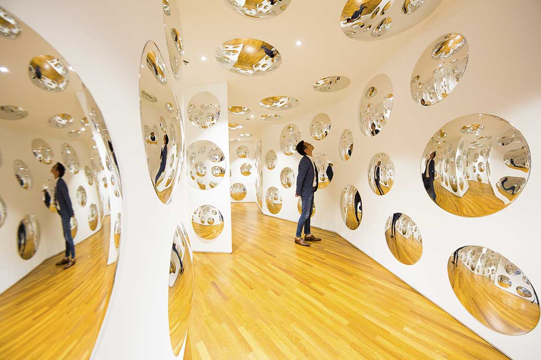 The World of Yayoi Kusama at the National Gallery Singapore