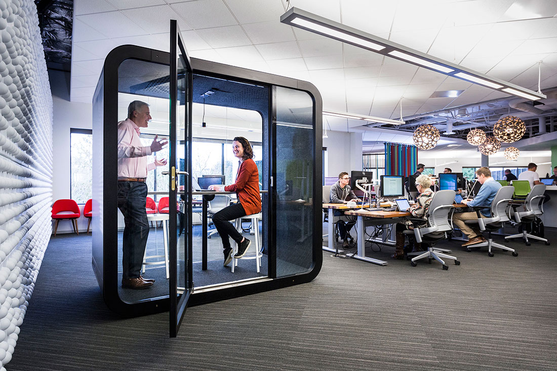 Distracted in the Open-Plan Office? You're Not Alone | IndesignLive.sg