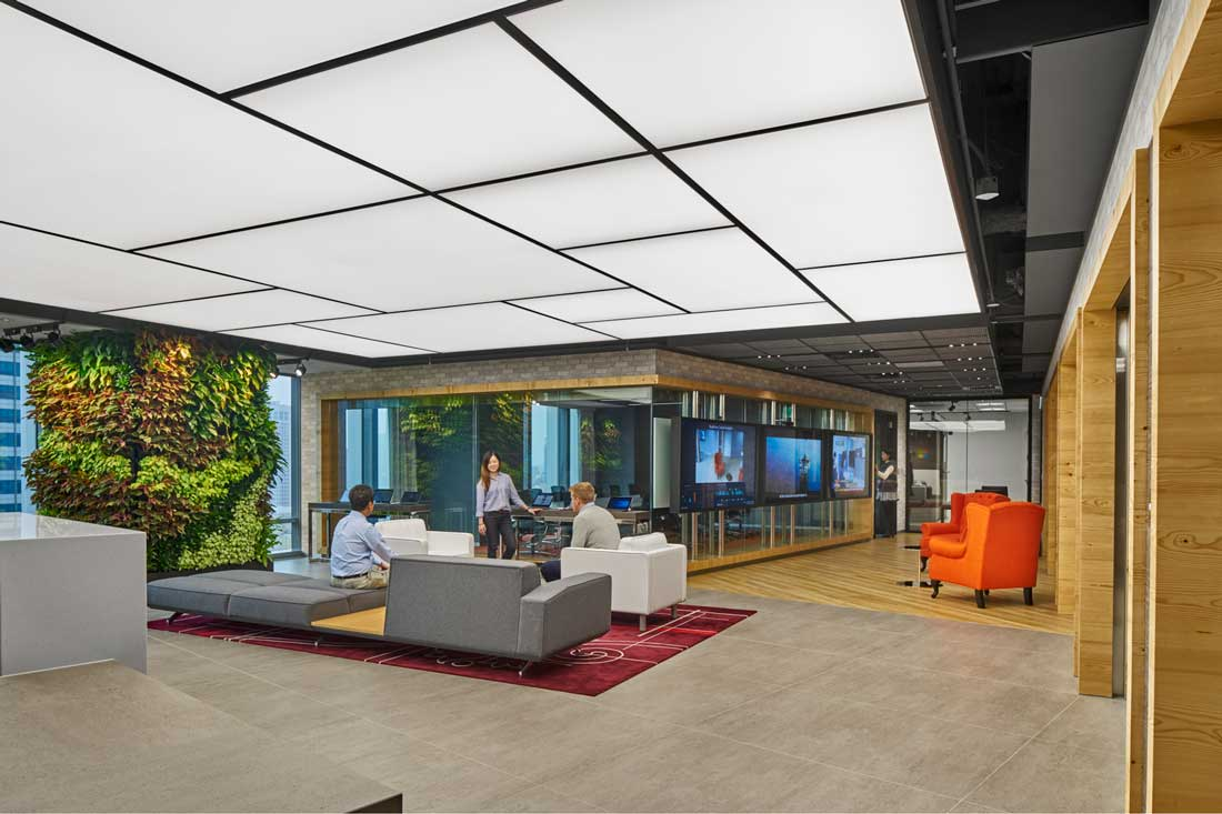 Space matrix brings context and experience to microsoft for Interior design website usa