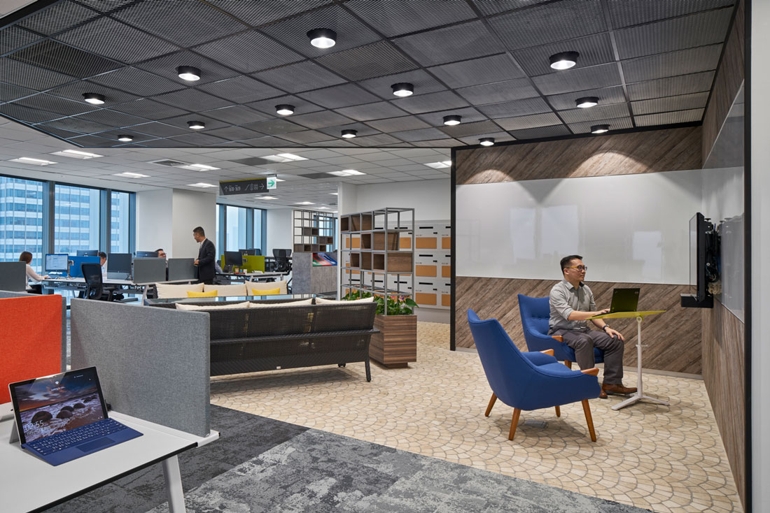 Microsoft office design space matrix brings context and experience to microsoft taipei