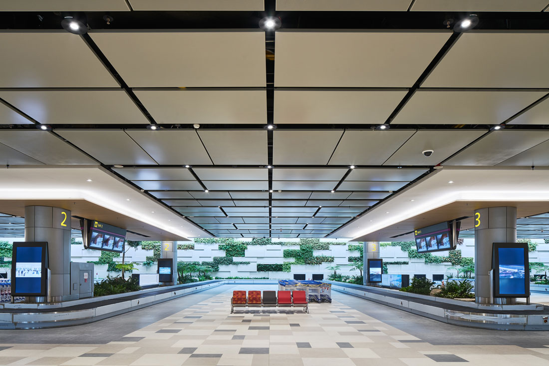 Where is Airport Interior Design Headed Find Out at Changi T4