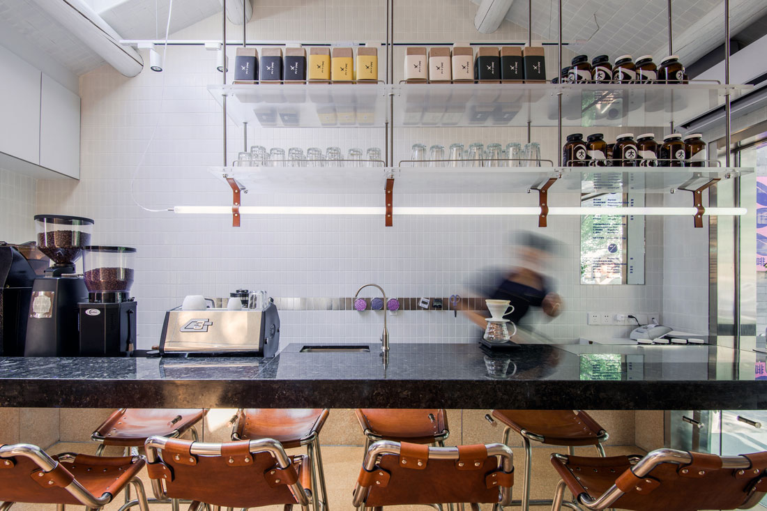 Big Small Coffee And Guestroom Beijing China By Office Aio