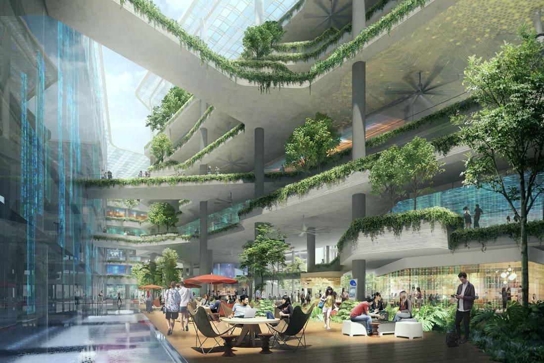 Punggol digital district indesignlive singapore for Design company singapore