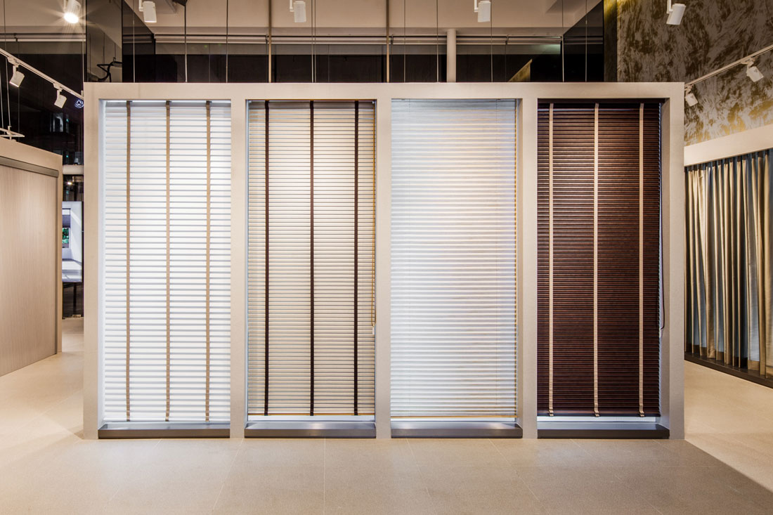 Singapore Now Has A Fashion Gallery For Smart Blinds