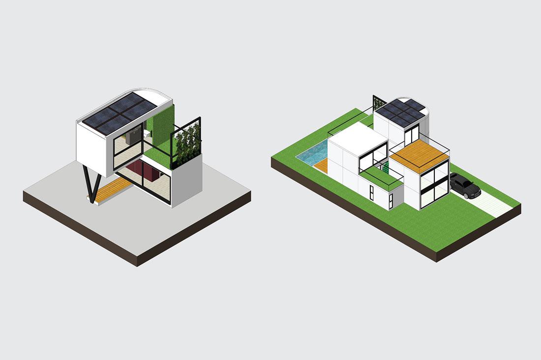 Modular Home With Light Gauge Steel