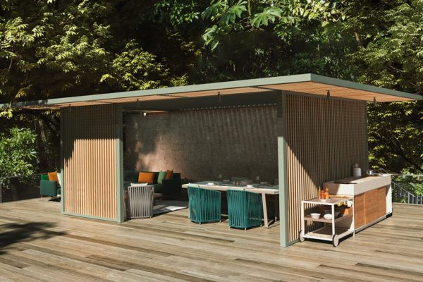 Cook, Eat And Lounge Outdoor With Kettal's PH1 Pavilions