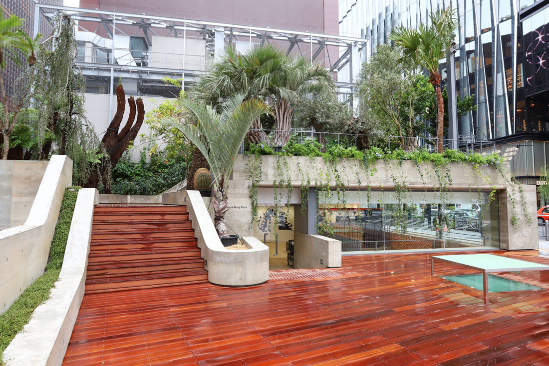 Newly Renovated And Re Imagined Central >> Ginza Sony Park A Retail Site Reimagined As A Public Space