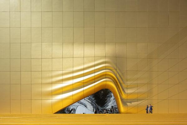 Paradise City MVRDV Ossip gold wall