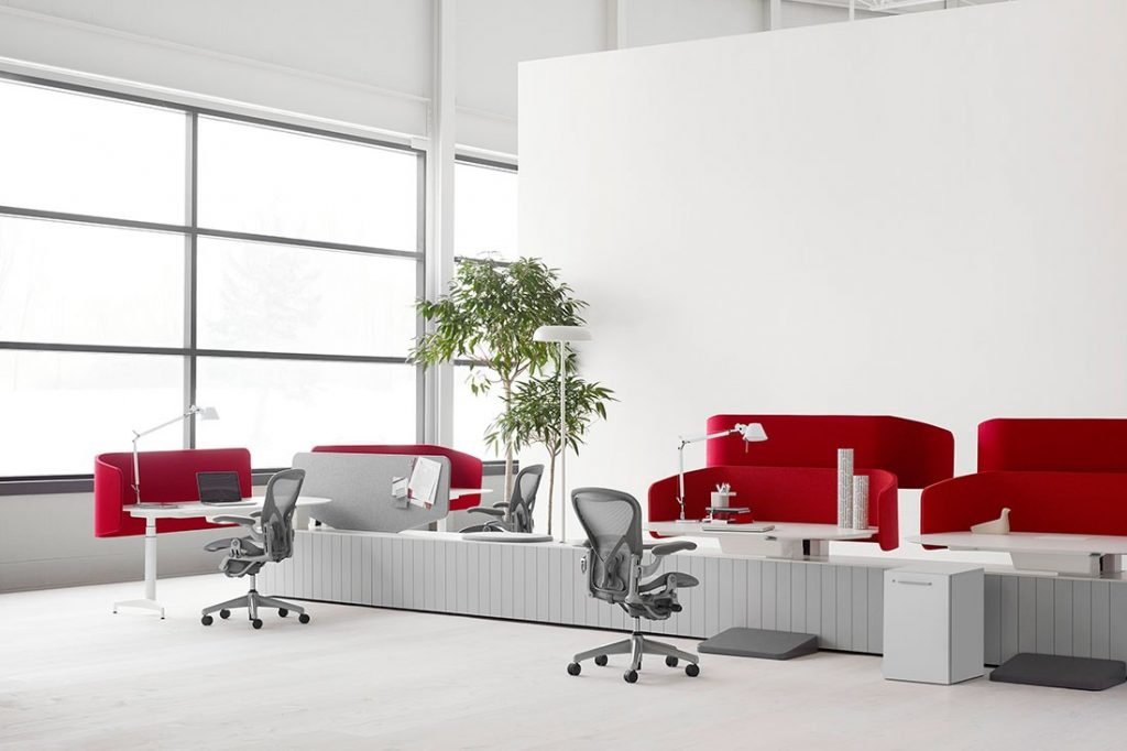 Workstations Herman Miller Locale
