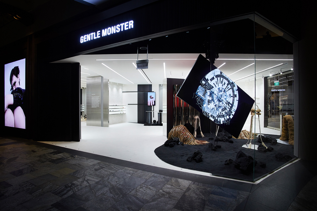 5192dd0157 Tech Dystopia And A Ravaged Earth Feature At Gentle Monster s Second  Singapore Store