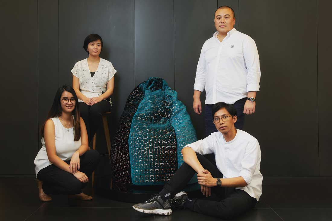 Three Winning Designs Of The Sacco Bean Bag Competition