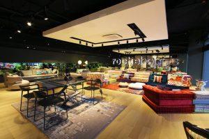 roche bobois singapore showroom view