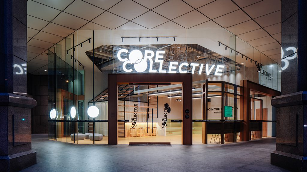 Farm Core Collective looking in