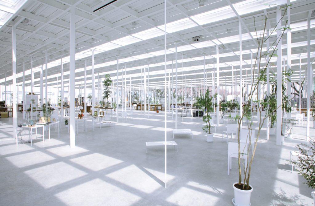 serpentine junya ishigami kait workshop, kanagawa institute of technology