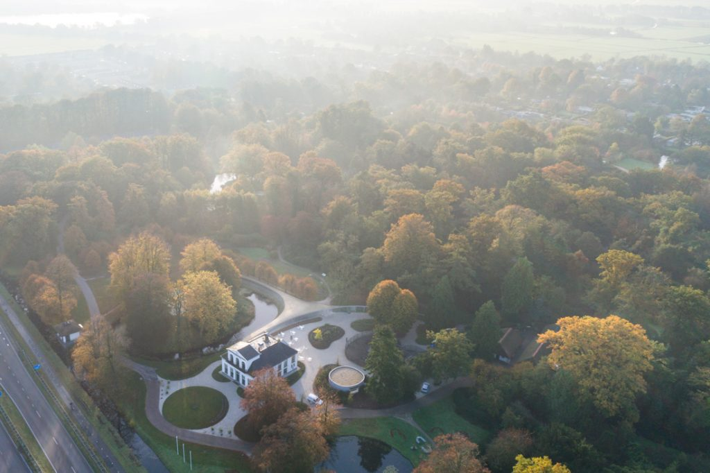 serpentine junya ishigami park groot Vijversburg Visitor Center