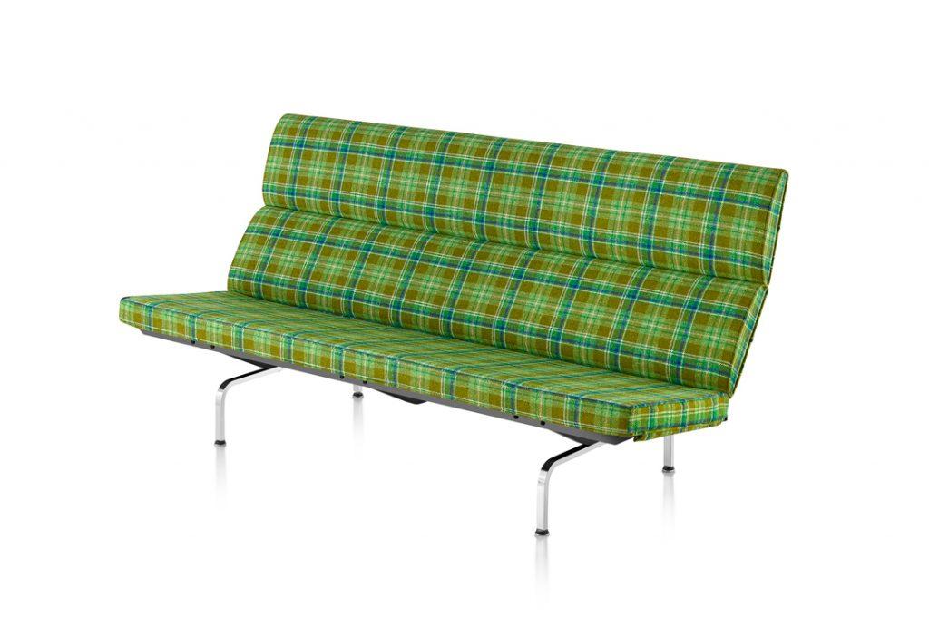 Eames Xtra Herman Miller Eames Sofa Compact