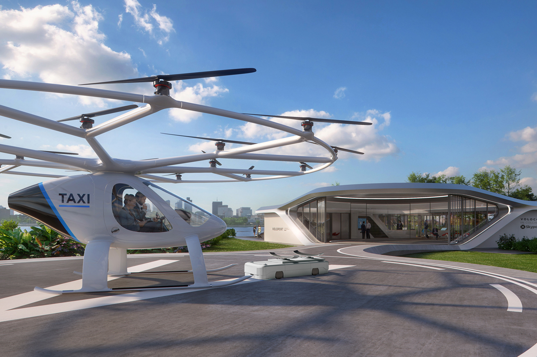 Air Taxi Vertiport To Be Built In Singapore | Indeisgnlive sg