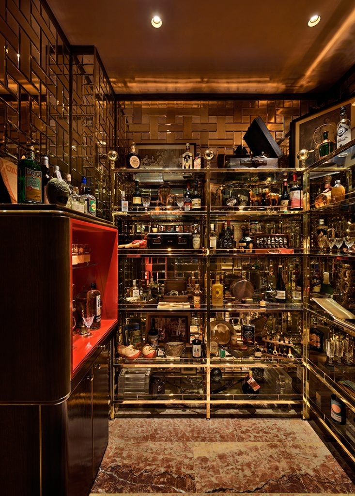 Idlewild HASSELL cabinet of curiosities
