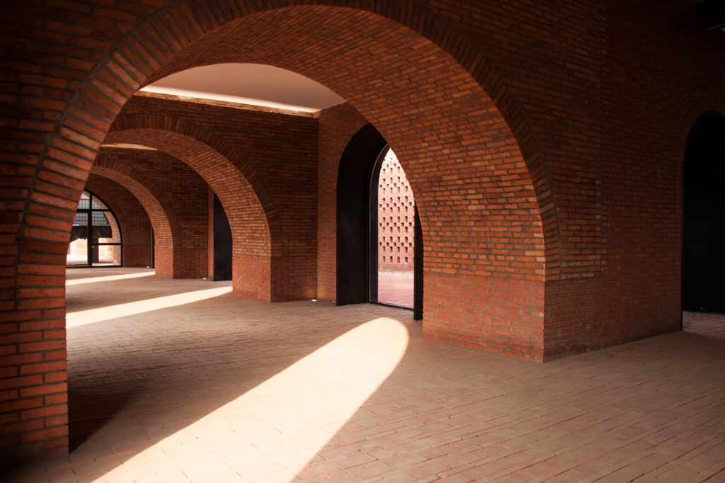 Tower of Bricks arches