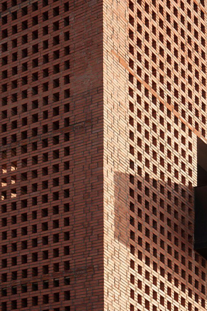Tower of Bricks tower detail