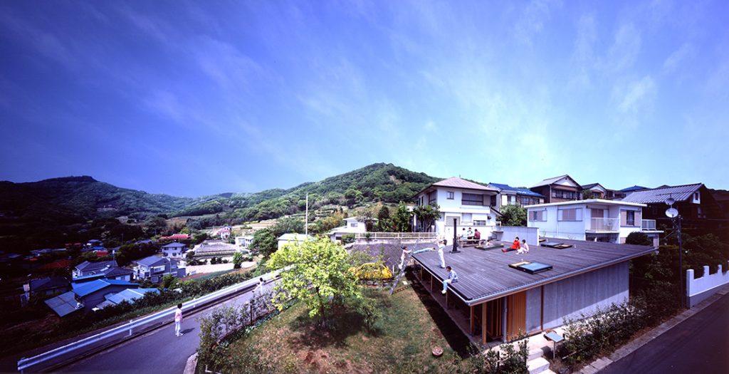 Tezuka Architects Roof House