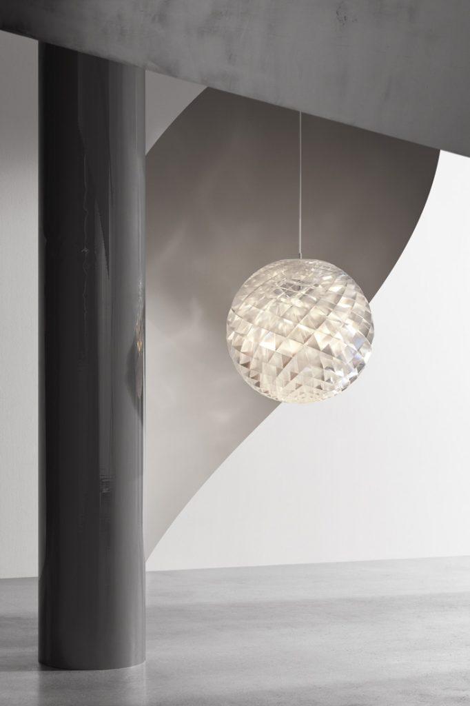 Louis Poulsen Patera Silver single lamp