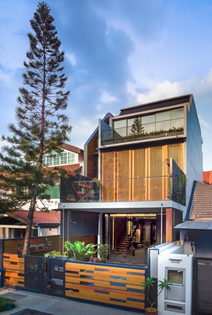 gallery house facade