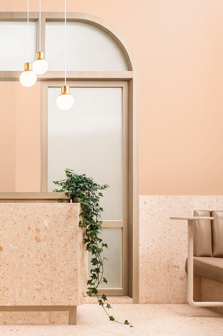biasol ambrosia counter and arch
