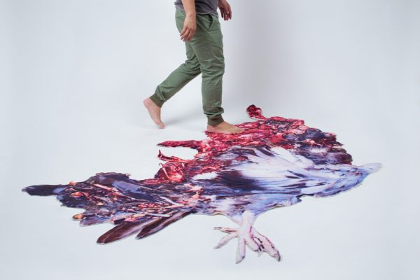 Nathan Yong in the scheme of things new pisa road kill carpet