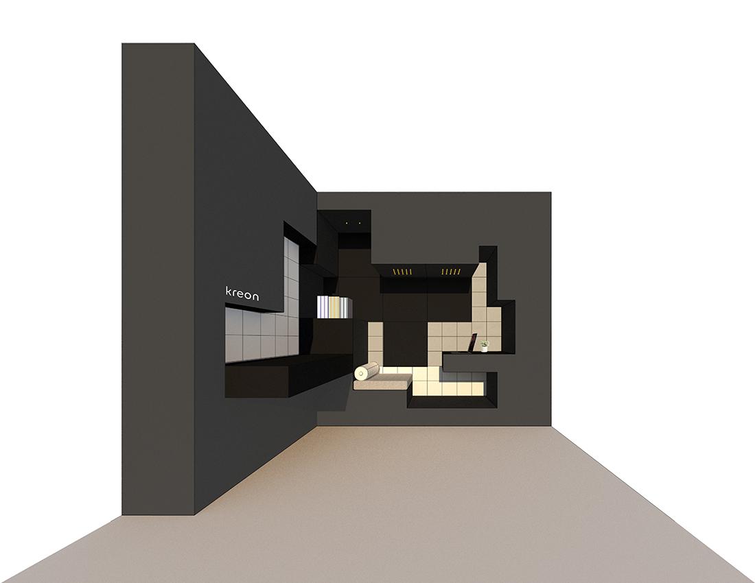 kreon studiogoto saturday indesign installations