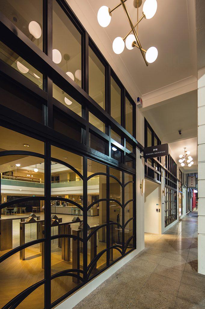 Temasek Shophouse five-foot way