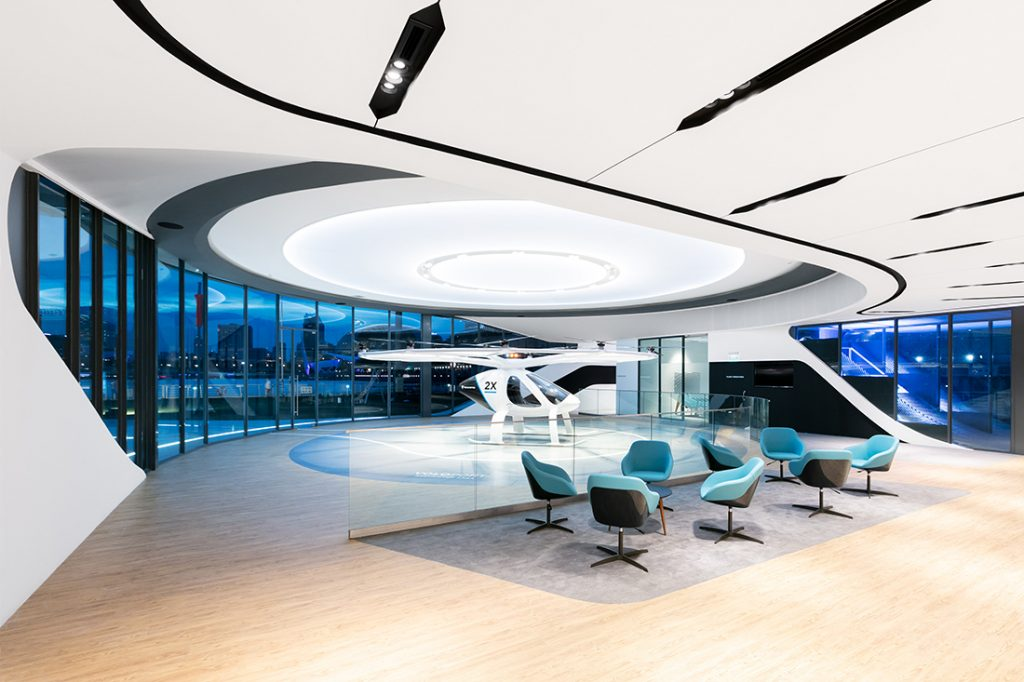 voloport air taxi volocopter skyports