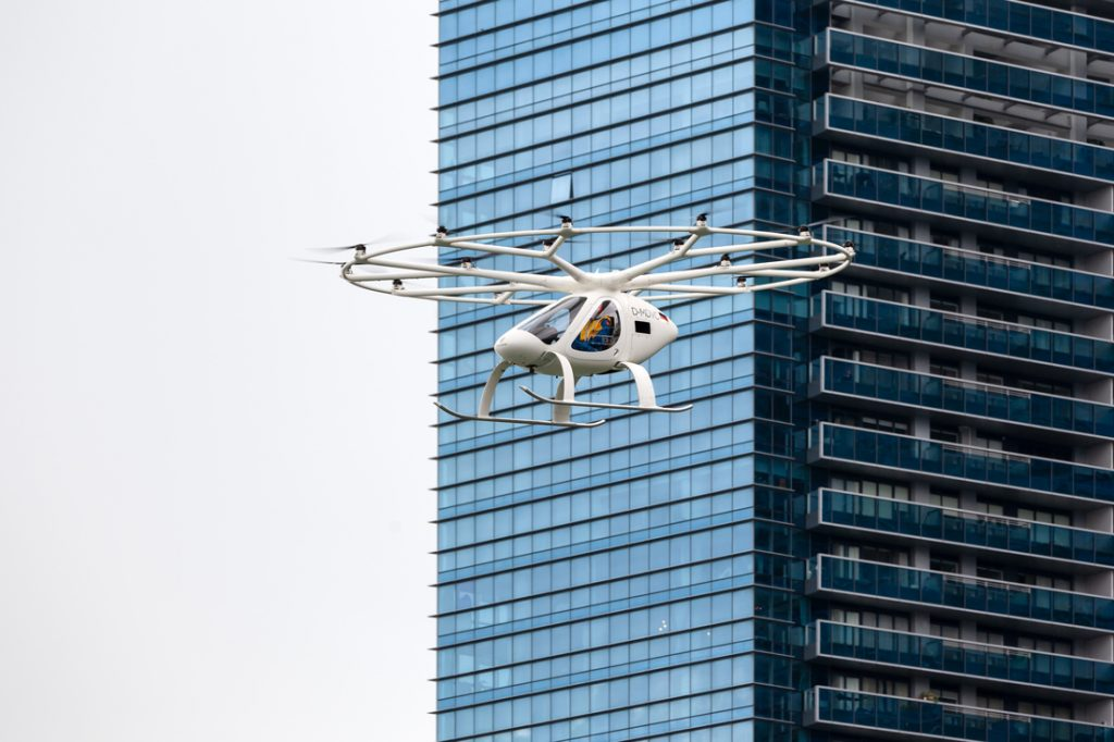 air taxi volocopter skyports