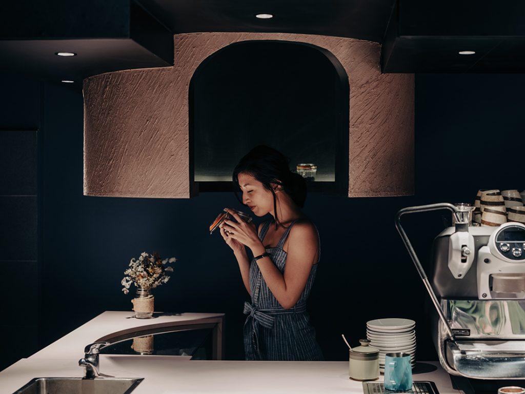studio SKLIM voids cafe grace espresso