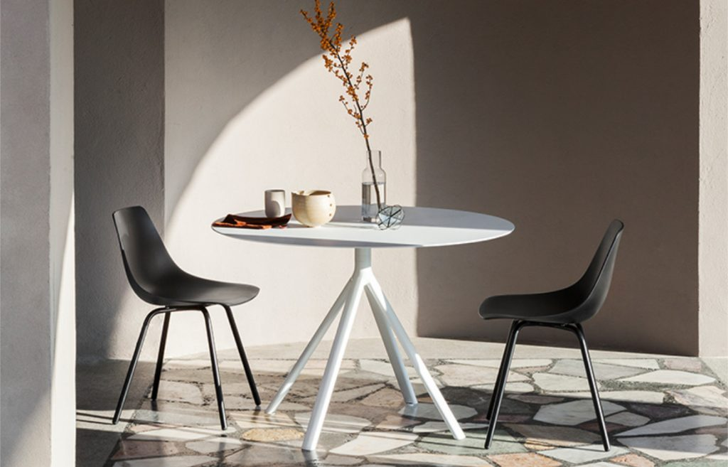Fork Chair Around Dining Table