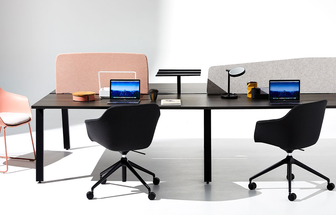 Jac Roller Chairs in Commercial Office
