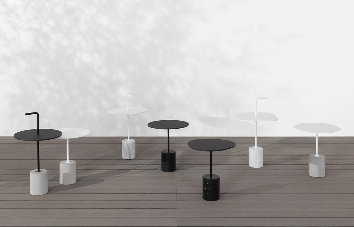 Jey Tables in Outdoor Setting