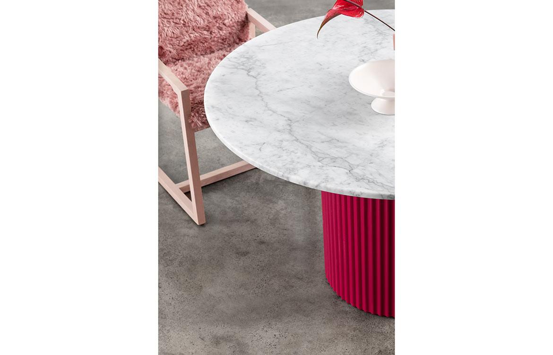 Ridge Pink Table Marble Top