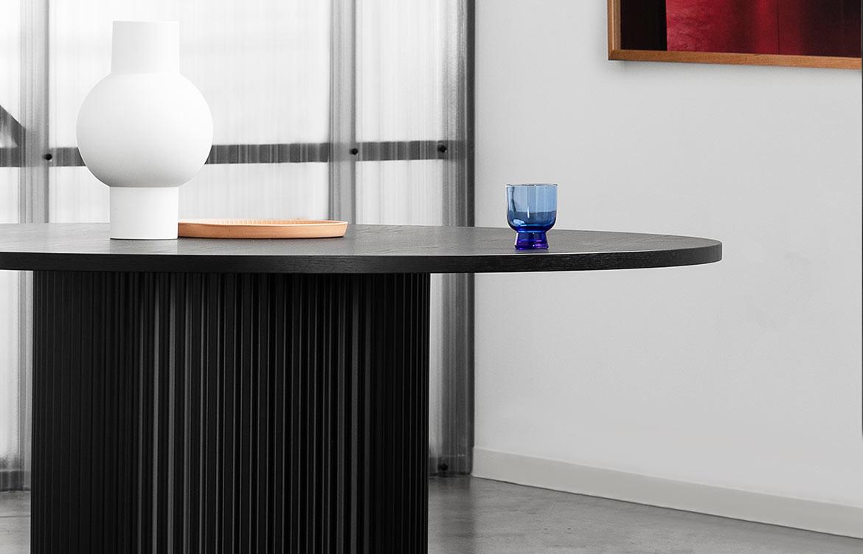 Ridge Black Table
