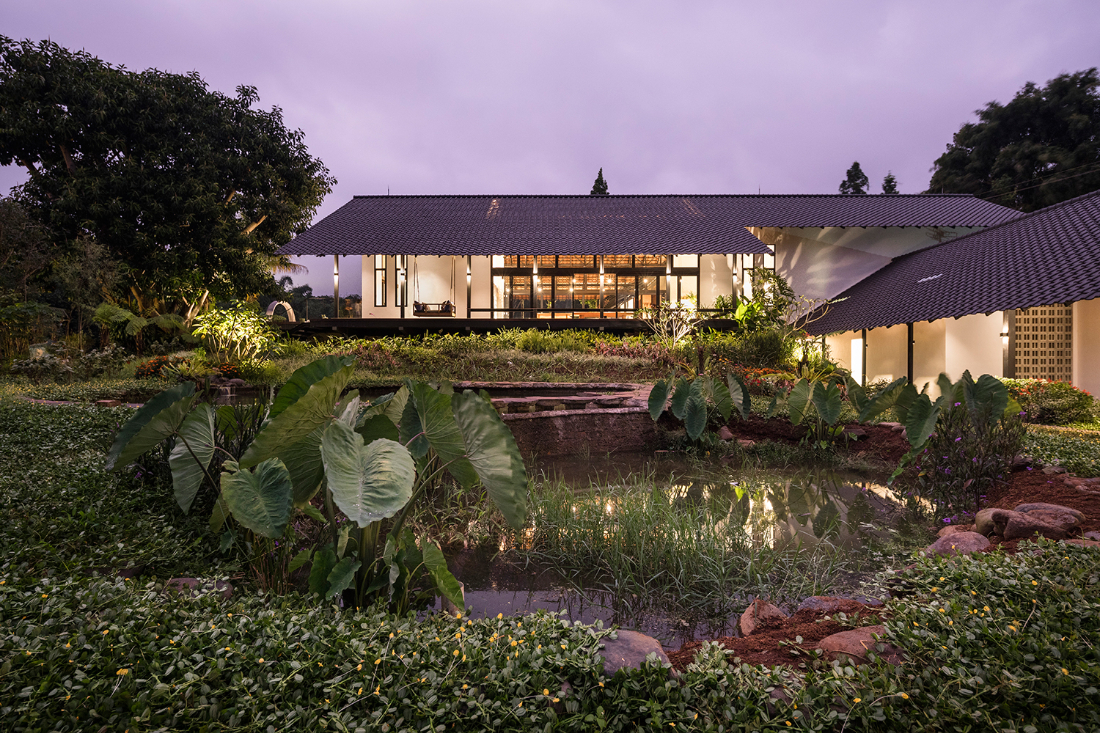 Nurture nature project - Sukasantai Farmstay by Goy Architects
