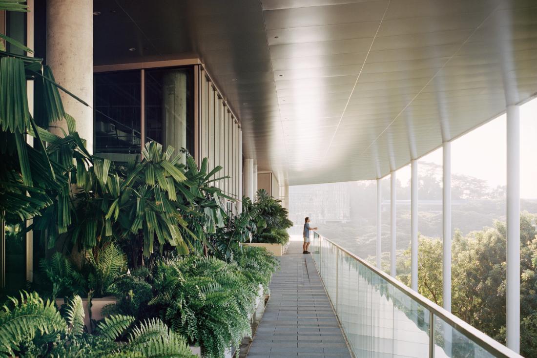 Serie Architects NUS SDE4 building Singapore