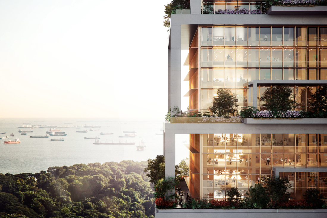 Serie-Architects-proposal-for-a-carbon-neutral-tower-in-Singapore-for-a-major-energy-company