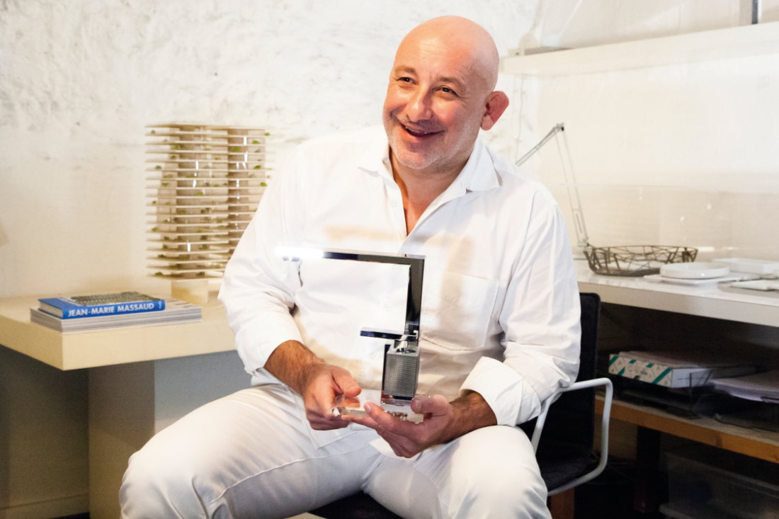 Portrait-of-Jean-Marie-Massaud-with-AXOR-Edge-faucet