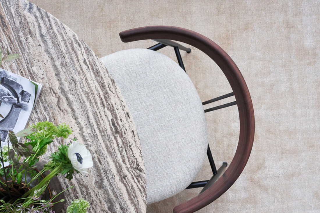gubi violin chair by GamFratesi