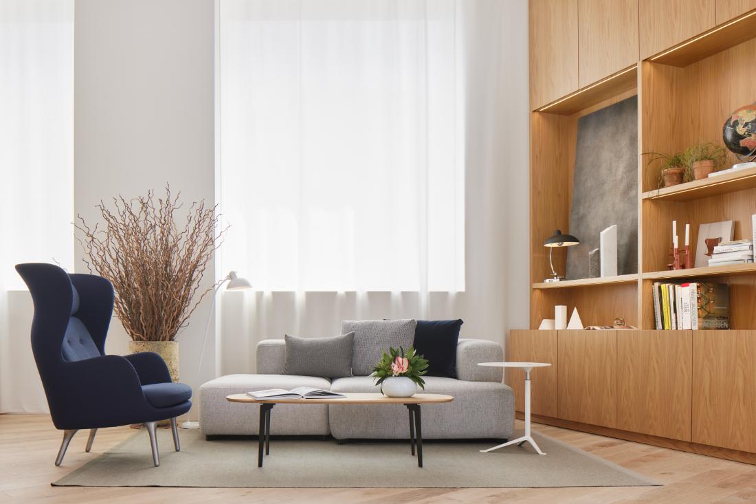 Fritz-Hansen-Tokyo-showroom-in-a-building-designed-by-Kengo-Kuma-5