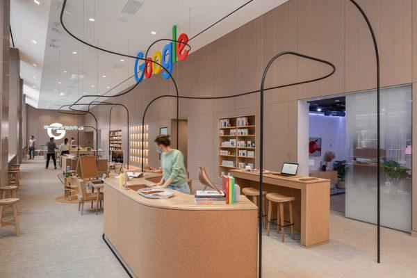 Google-flagship-store-interior