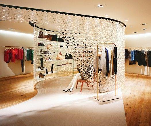 Designer clothes stores