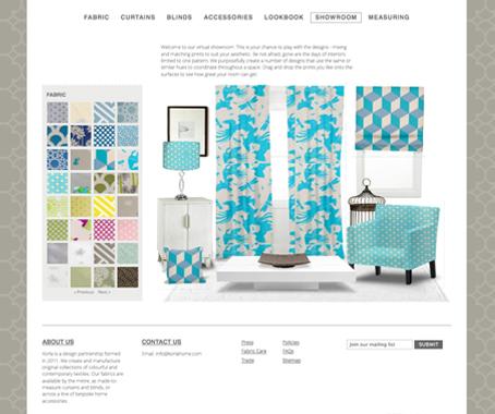 Korla The Sites Lookbook Offers Visitors Design
