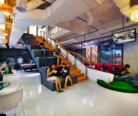 Ogilvy mather jakarta architecture design for Office design jakarta