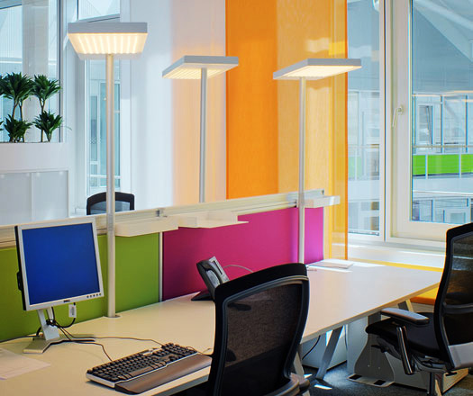 office task lighting. Office Air By KODA Lighting. Revolutionary Task Lighting O